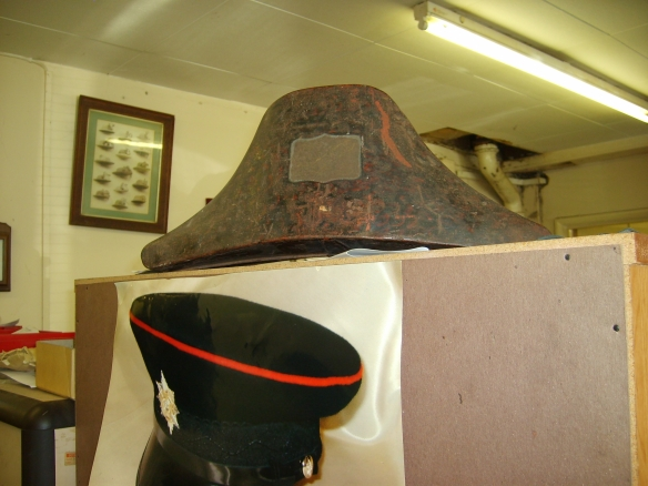 Cocked hatbox at Patey