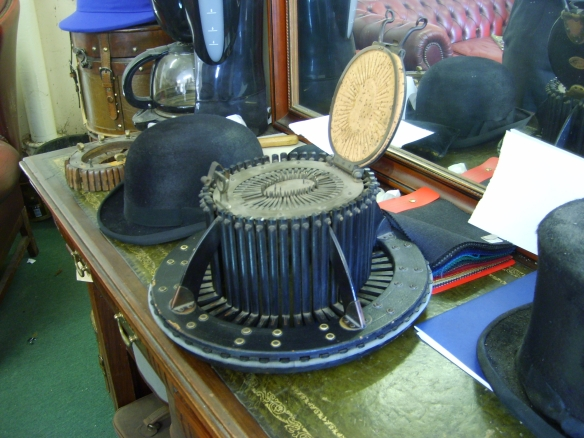 The head-mapper at Patey. These machines date back to the 1840s and must be repaired by a piano repair company!