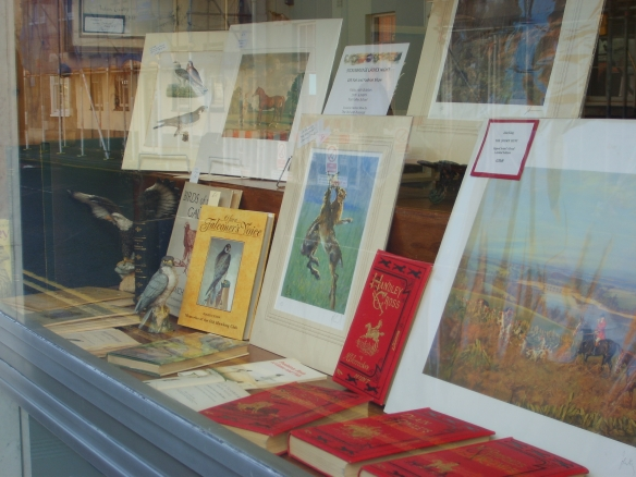 The Heads' shopwindow in Salisbury offers a tempting glimpse at the delights inside, from rare signed prints to valuable volumes.