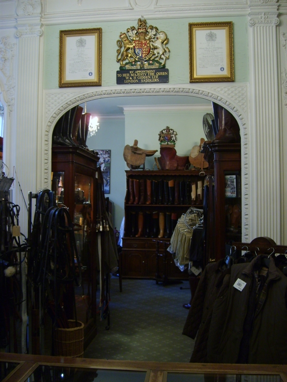 Schneider's don't just make cutom boots. They also sell everything from hunt coats to saddles to reins.