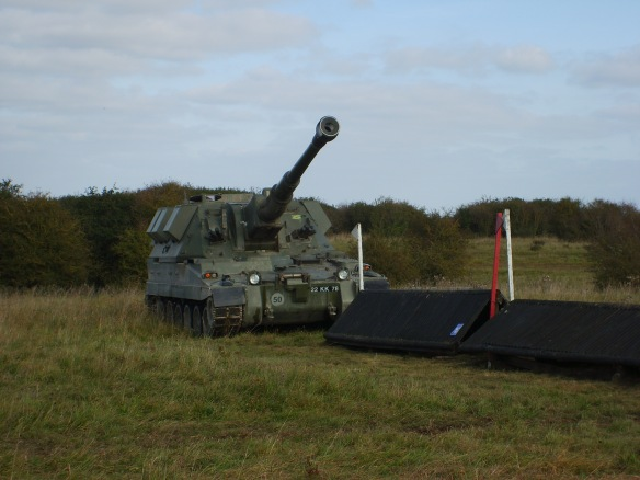 Tank and coop at the RA hunter trials